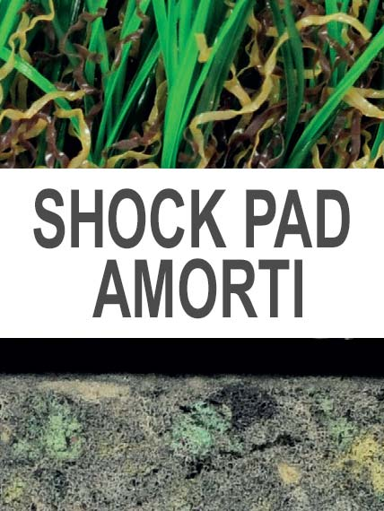 Green Touch Shock Pad Amorti