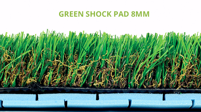 Green Shock Pad 8mm